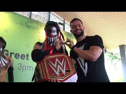 Finn Bálor meets The Demon King in Singapore