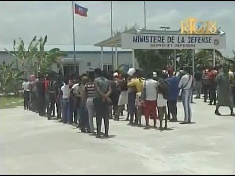 Force de défense d'Haïti -  La publication des résultats d'examens médicaux