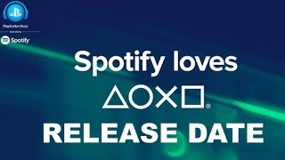 Playstation Spotify Launch Date: Revealed Playstation France Announce Release Date Psn Ps4