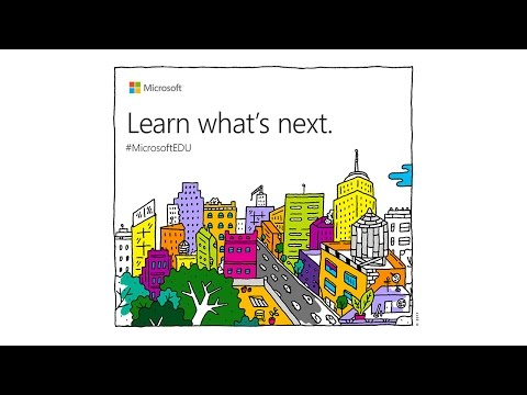 Microsoft Learn What's Next #MicrosoftEDU - Live Stream Press Conference