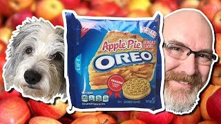Apple Pie OREO Cookie Review with Sam the Dog