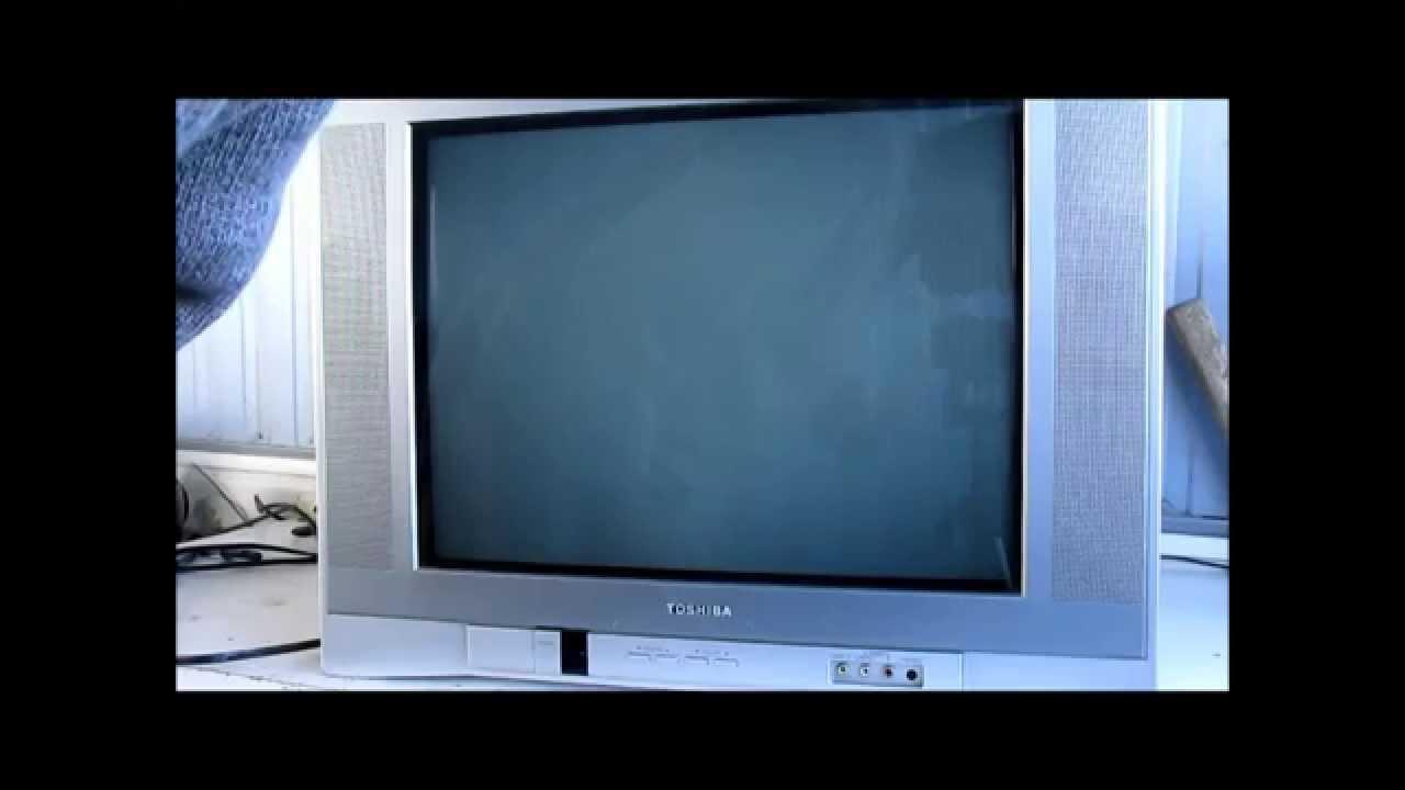 Reparacion De Un Tv Toshiba Video 1 De 2 Youtube