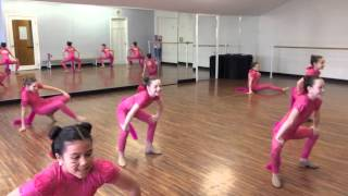 """""""Pink Panther"""" Creswell Dance Academy 2015"""