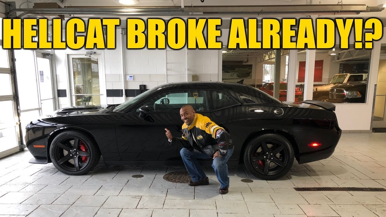 dodge hellcat issues 1 Dodge Challenger Hellcat Issues After Only 1 Days of Ownership