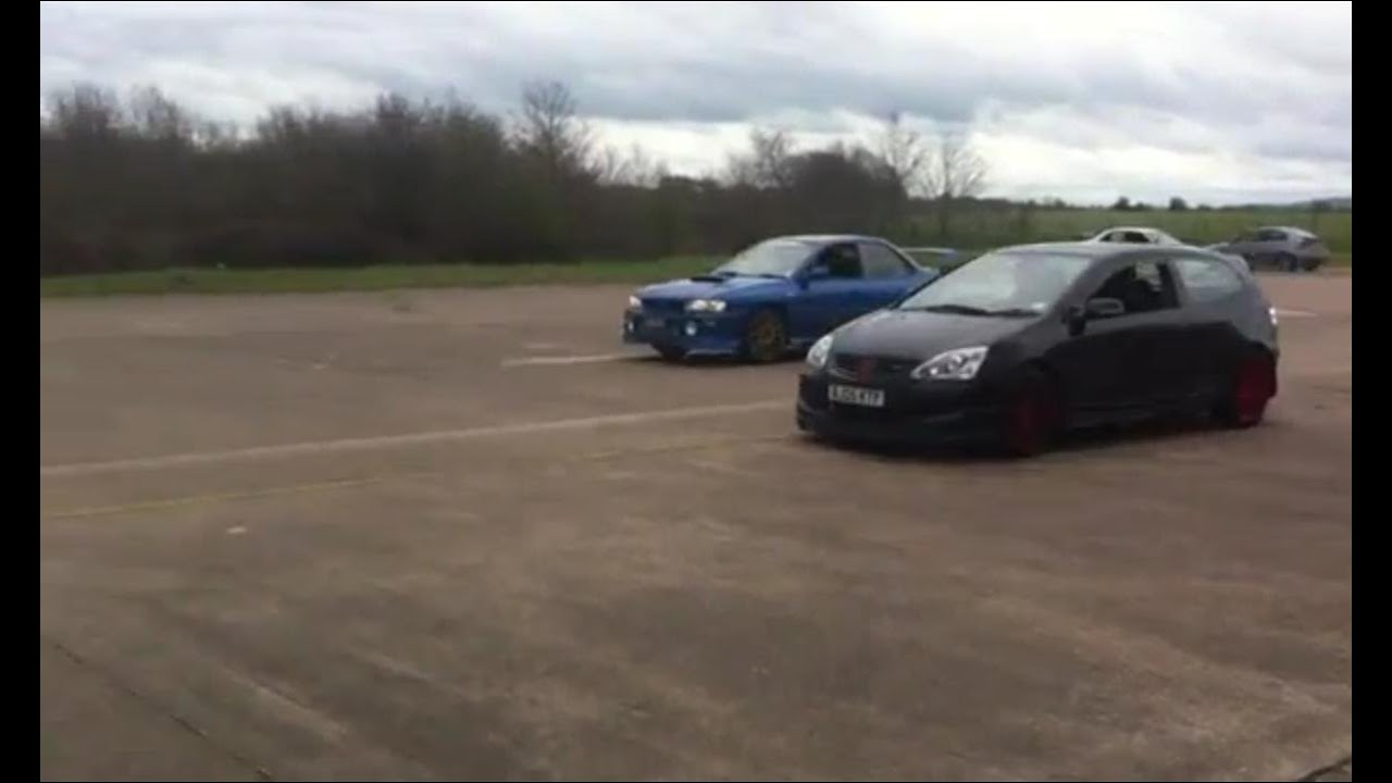 Subaru Impreza vs Honda Civic TypeR  YouTube