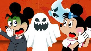 Mickey Mouse Baby & Minnie Mouse Dating In House Spooky Full Episodes! Donald Duck Cartoon