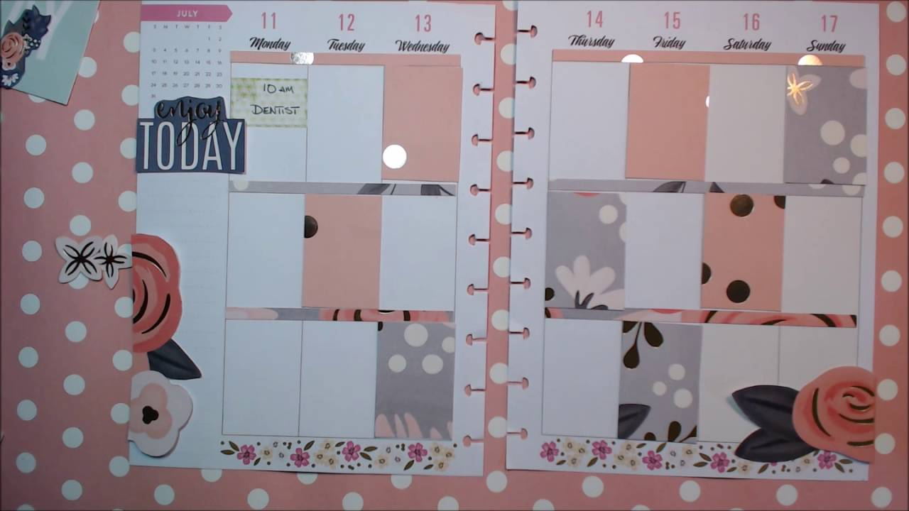 Decorate Your Planner With Nothing But Scrapbook Paper Youtube