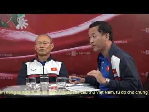 Trực Tiếp Phỏng vấn HLV Park Hang Seo thuyền trưởng U23 Việt Nam 29/01/2018