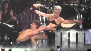 ''Try'' Pink Live @ Manchester MEN 14/04/2013