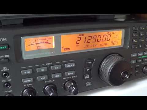 K6YRA Calling CQ europe on 15 meters  amateur radio band