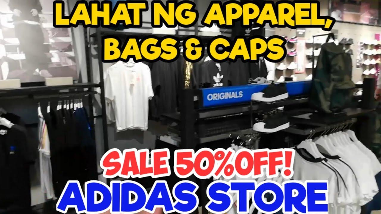 Nagmistulang ADIDAS OUTLET STORE Lahat naksa SALE 50% OFF! May ₱300 lang dito!