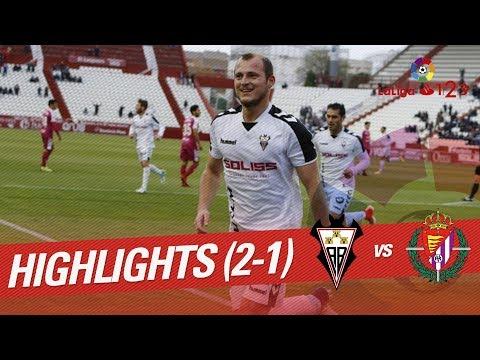 Resumen de Albacete Balompié vs Real Valladolid (2-1)