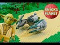 Yoda's Starfighter 75168 LEGO Star Wars - Stop Motion Review