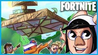 BUILDING a STAR DESTROYER in Fortnite: Battle Royale! (Fortnite Funny Moments)