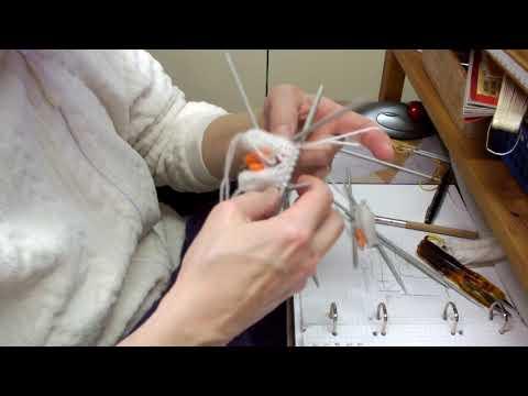 Video: 05 Zehensocken   Zehen zusammenstricken 2  Versuch