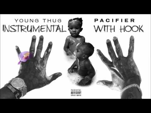 Young Thug - Pacifier (Instrumental With Hook)