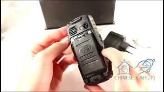 Видеообзор ударопрочного водонепроницаемого телефона LandRover A9i IP67