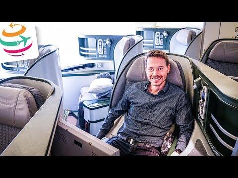 Outstanding flight: EVA AIR Business Class for 16 hours! | GlobalTraveler.TV