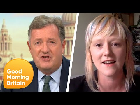 Piers Calls Extinction Rebellion Annoying After Preventing 'Freedom of Press' | Good Morning Britain