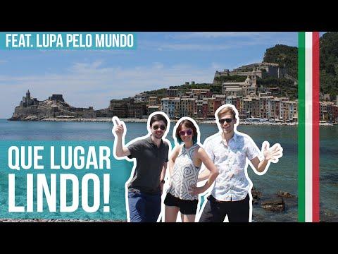 Seria este o LUGAR MAIS LINDO DO MUNDO? - La Spezia e Portovenere - Alemanizando na Itália #4