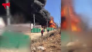 Пожар на Выселковой