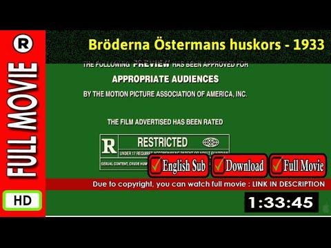 Watch Online : Bröderna Östermans huskors 1933