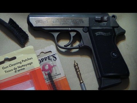Walther ppk/s 22lr cleaning