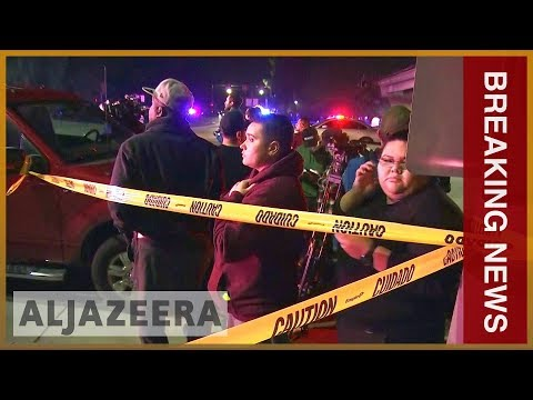 🇺🇸California bar shooting: At least 12 killed l Breaking News Mp3