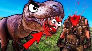 SUPER T-REX UNIT KILLS CHUCK NORRIS! (Ultimate Epic Battle Simulator / UEBS Funny Gameplay)