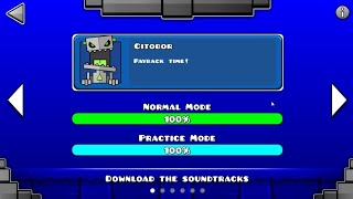GEOMETRY DASH DUNGEON (ALL LEVEL)