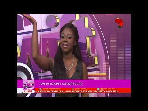 DL SIMPLE...interview with Betty and Dj Saka@PAN AFRICAN TV.21st Nov 2017.