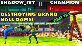 Shadow Fight 3 Update. Defeating Regular and Grand Ball Game Championship FIRST TRY. Easy Strategy.