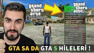 GTA SAN ANDREAS DA GTA 5 HİLELERİ KULLANMAK!