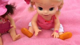 Baby Alive Learns To Potty Finds A New Home! Age And Name Reveal | How Is She Different?