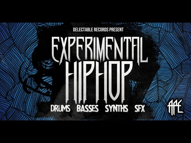 Experimental Hip Hop Samples & Loops - Delectable Presents Experimental Hip Hop #1