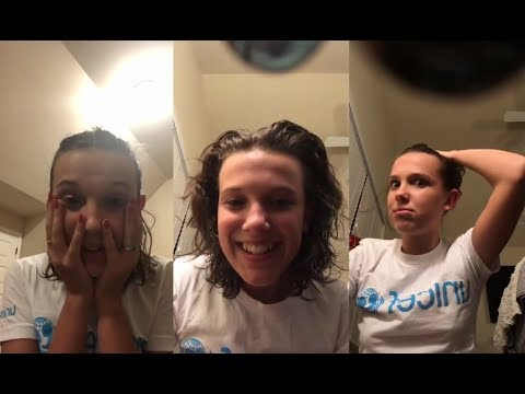 Millie Bobby Brown - Instagram Live - 12-09-2017 Part 2