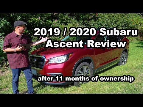 2019 / 2020 Subaru Ascent Review