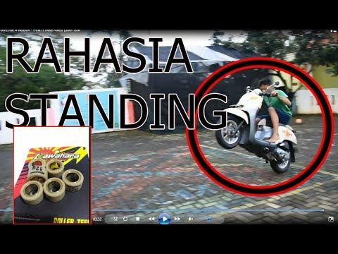 cara bikin motor matic kamu bisa standing(jumping)