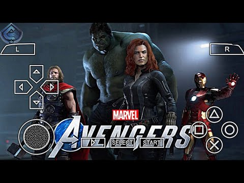 How To Download  Avengers: End Game For Android| DOWNLOAD AVENGERS GAME IN PPSSPP EMULATOR