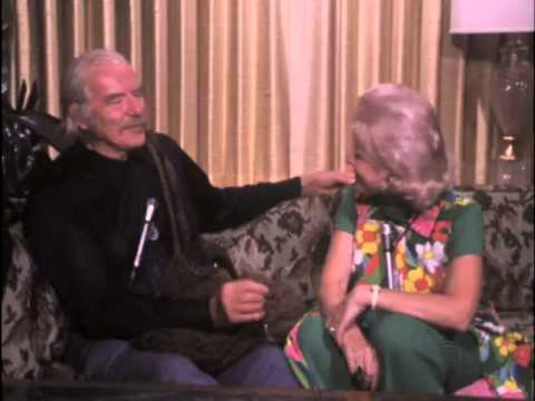 "Bette Rogge interviews Will Geer who played Grandpa Walton on the TV series ""The Waltons."""