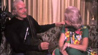 Bette Rogge interviews Will Geer who played Grandpa Walton on the TV series