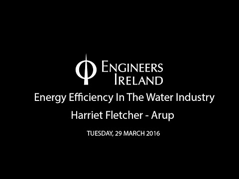 Energy Efficiency In The Water Industry