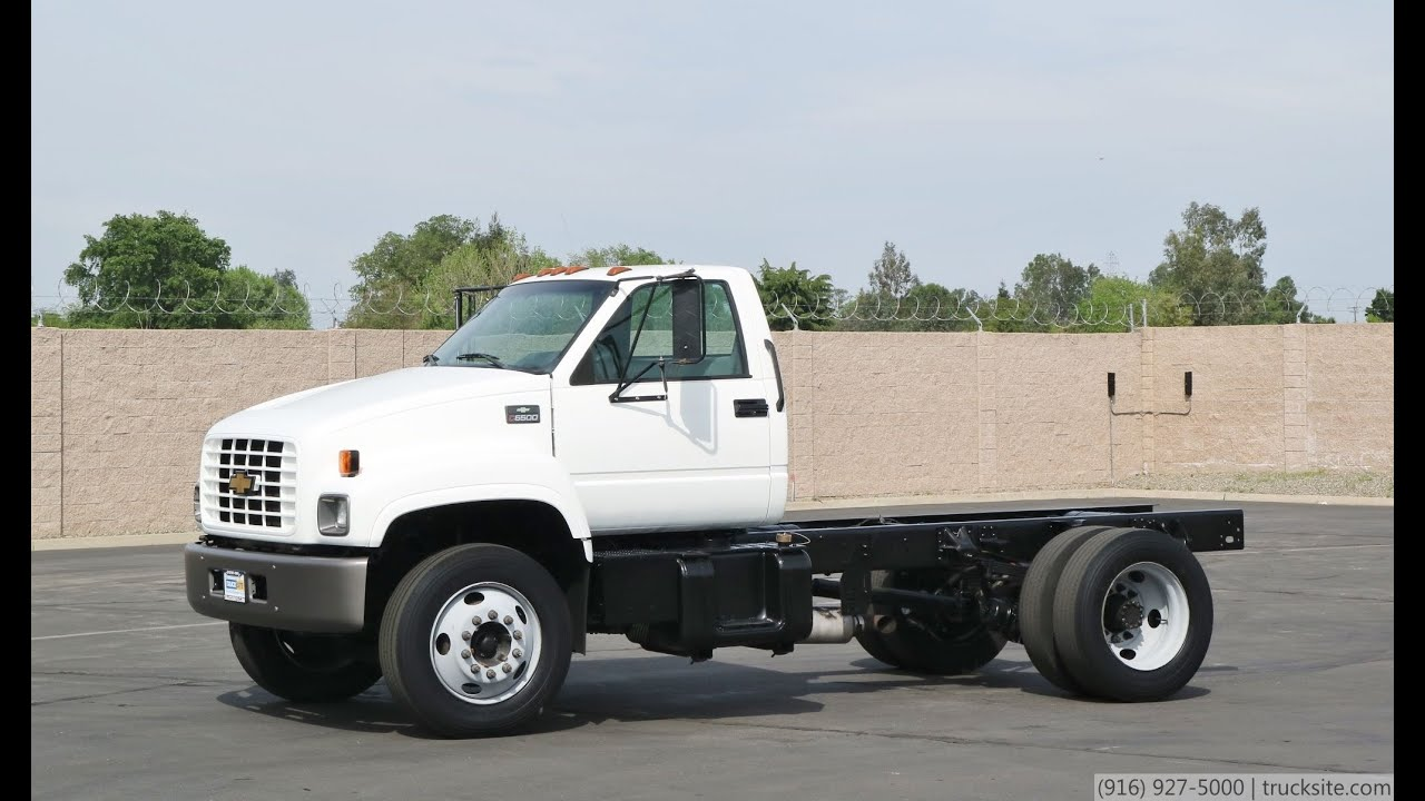 2002 Chevrolet C6500 Cab & Chassis - YouTube