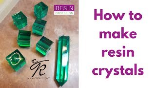How to make resin crystals