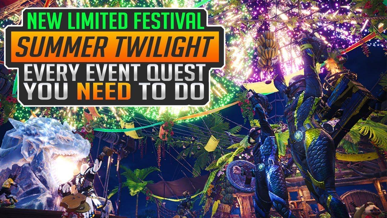 Monster Hunter World Sommer Event