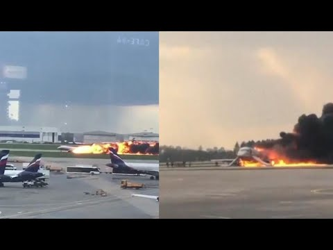 Jo Jo - Russian Plane Landing On Fire!
