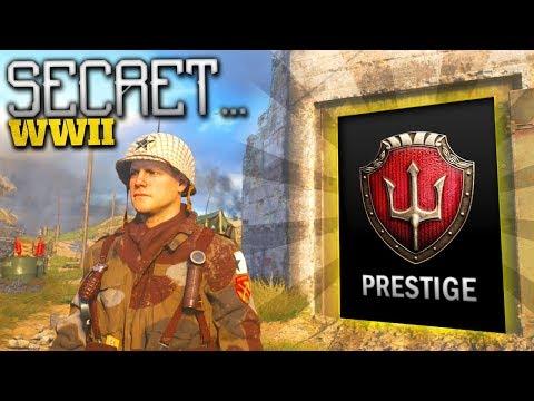 The SECRET Prestige AREA...! (COD WW2 Headquarters Tour)