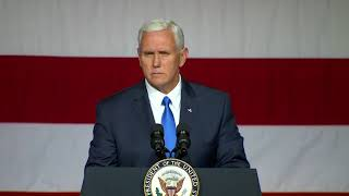 Pence to Texas  We are with you every single day