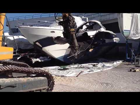 demolizione barca