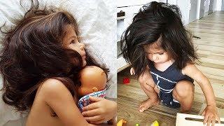 Девочке всего 2 года, но за ней уже охотятся многие модельные агентства!